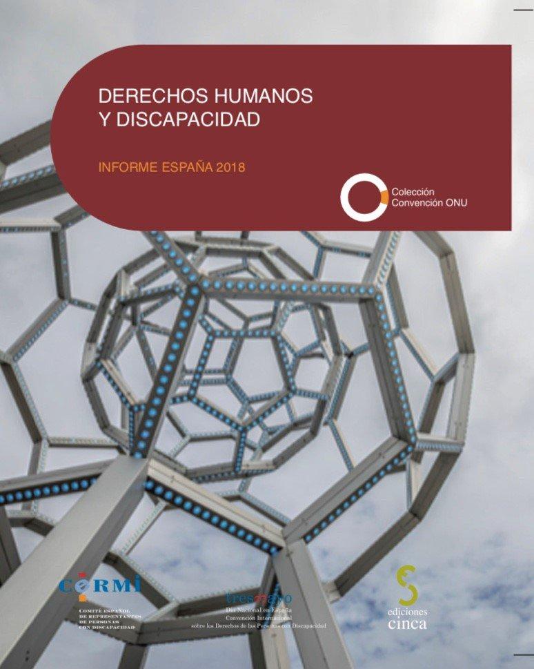Portada Informe Derechos Humanos Discapacidad 2018