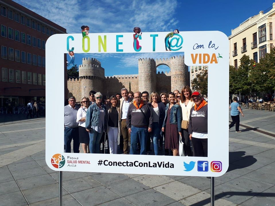 Campaña #ConectaConLaVida